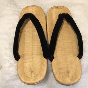Other - Men Japanese geta size 8 to 9